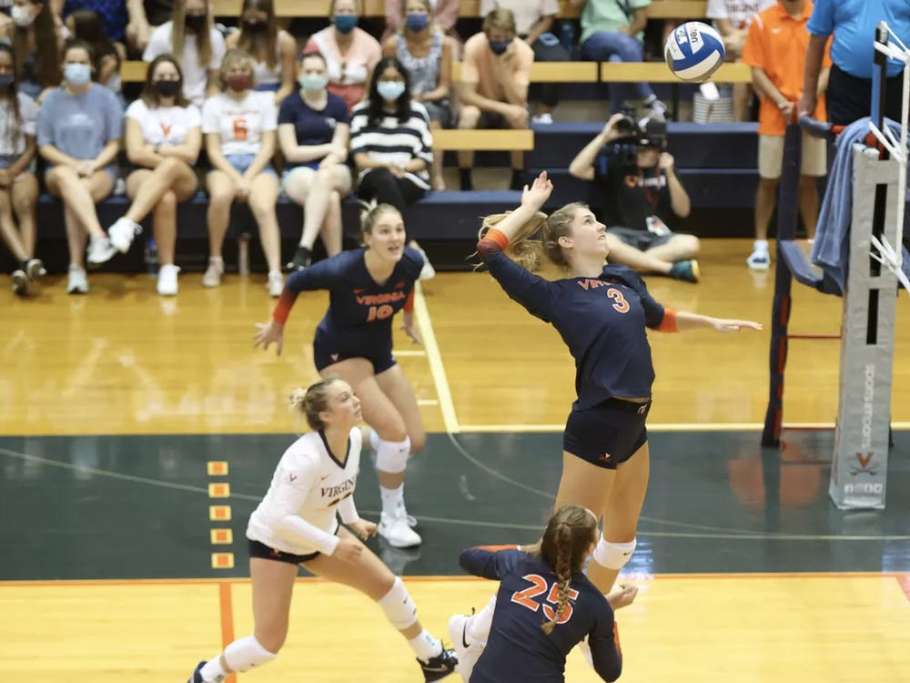 After its loss to Pittsburgh, Virginia is 0-8 in matches against teams ranked in the top five.