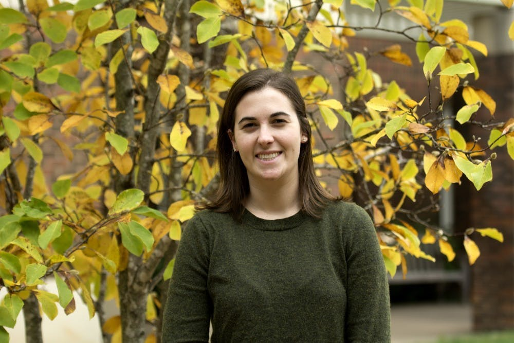 <p>Lillie Lyon is a fourth-year College student and chair of the Honor Committee.</p>