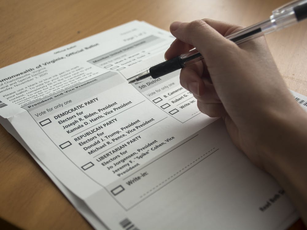 The deadline to request an absentee ballot was Oct. 23 at 5 p.m — for those who didn't request an absentee ballot, in-person voting on Election Day from 6 a.m. to 7 p.m. is still an option.