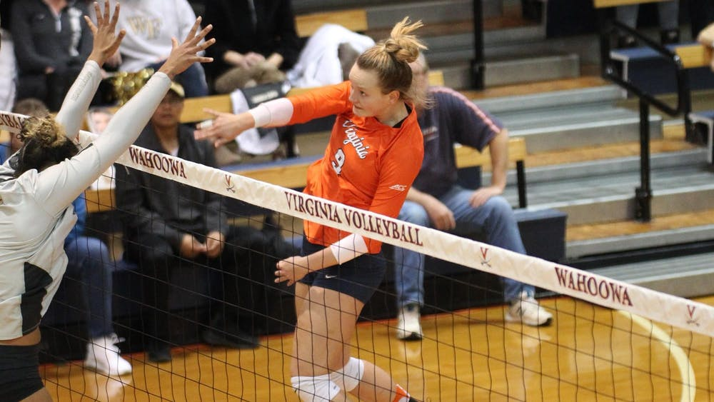 Freshman outside hitter Jayna Francis led all Cavaliers players with 21 kills on the weekend.
