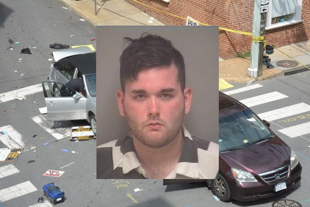 <p>James Alex Fields Jr. was found guilty of driving his car into a crowd of counter protesters at the Unite the Right rally in August 2017, killing one and injuring dozens of others.</p>