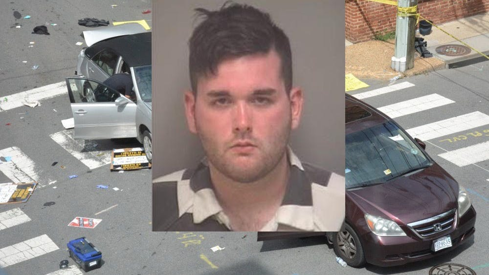 James Alex Fields Jr. was found guilty of driving his car into a crowd of counter protesters at the Unite the Right rally in August 2017, killing one and injuring dozens of others.