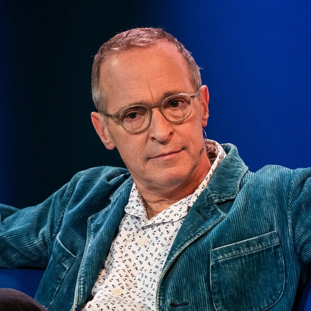 <p>Author and comedian David Sedaris shared four essays from his new collection at the Martin Luther King Performing Arts Center Oct. 16.&nbsp;</p>