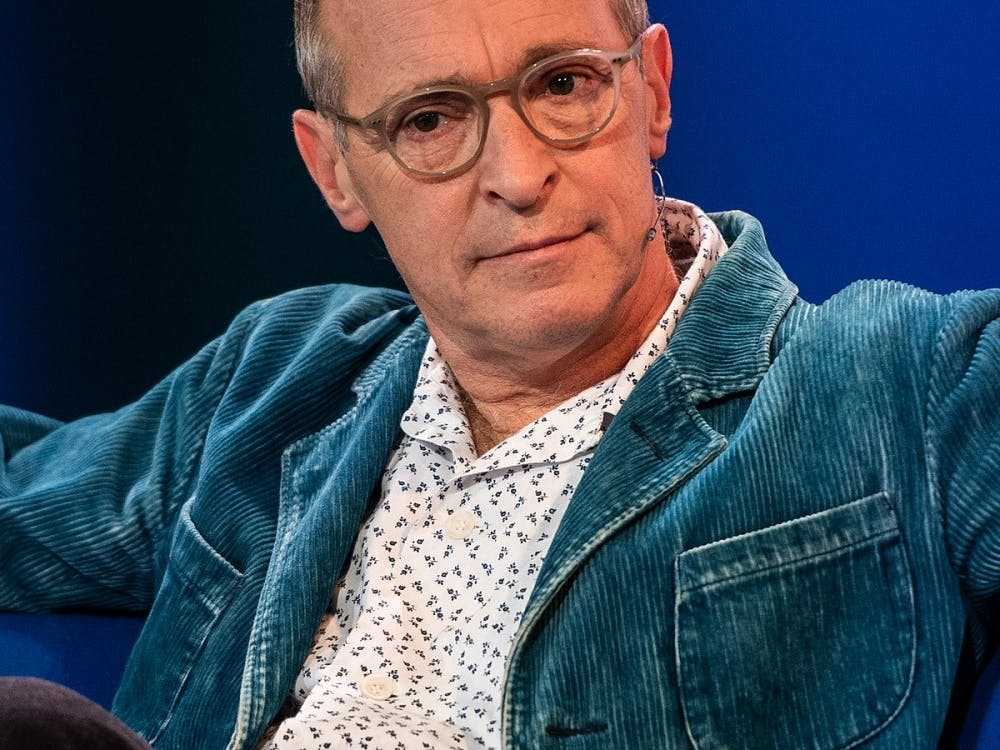 Author and comedian David Sedaris shared four essays from his new collection at the Martin Luther King Performing Arts Center Oct. 16.