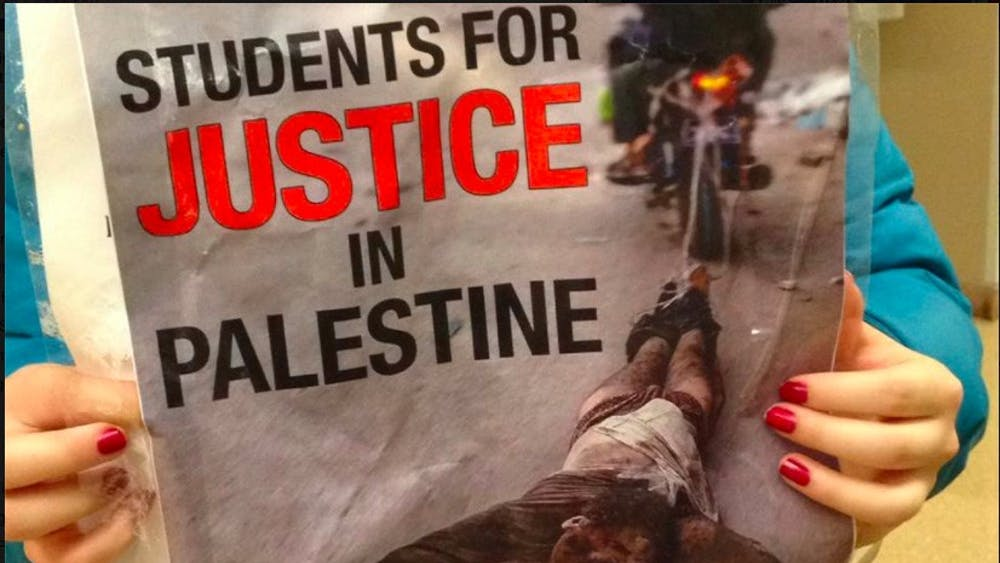 Students for Peace and Justice in Palestine claimed the posters werean attempt to create a rift between religious groups at the University.