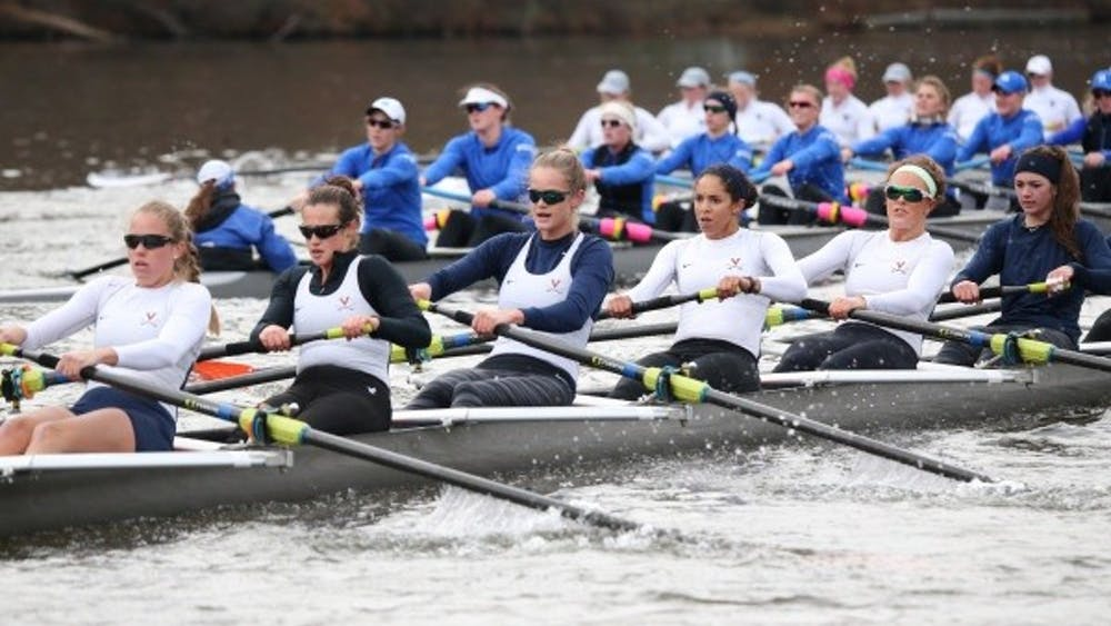 Virginiaplaced four boats in the top 12 against the perennially strong east coast competition at the Princeton Chase.