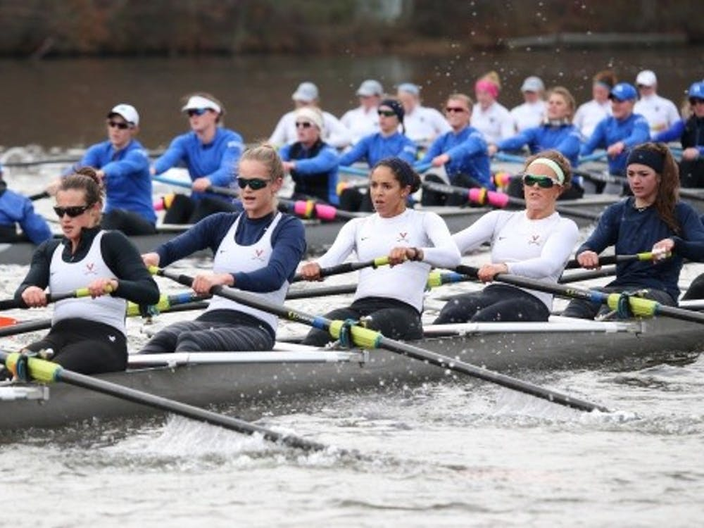 Virginia placed four boats in the top 12 against the perennially strong east coast competition at the Princeton Chase.