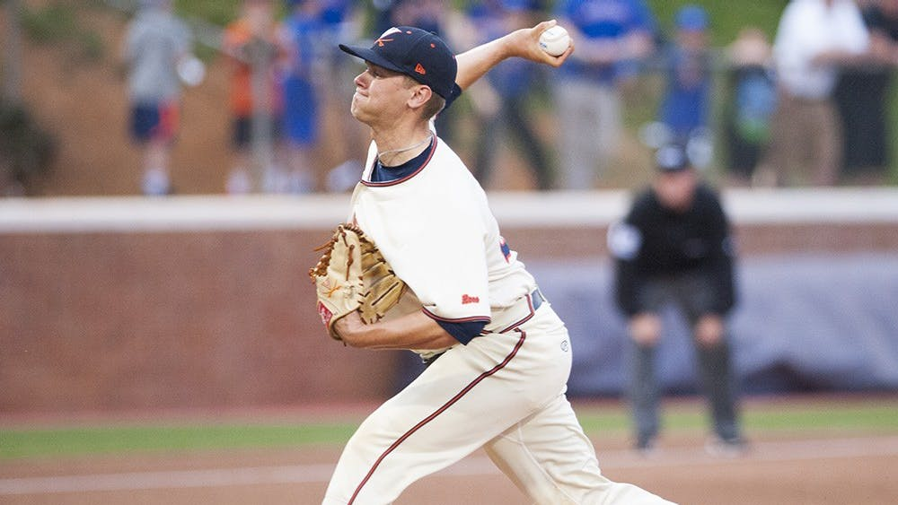 Junior right-hander Connor Jones managed five strikeouts and allowed just one run, notching his second complete game of the 2016 season in Virginia's 5-1 series-opening victory.