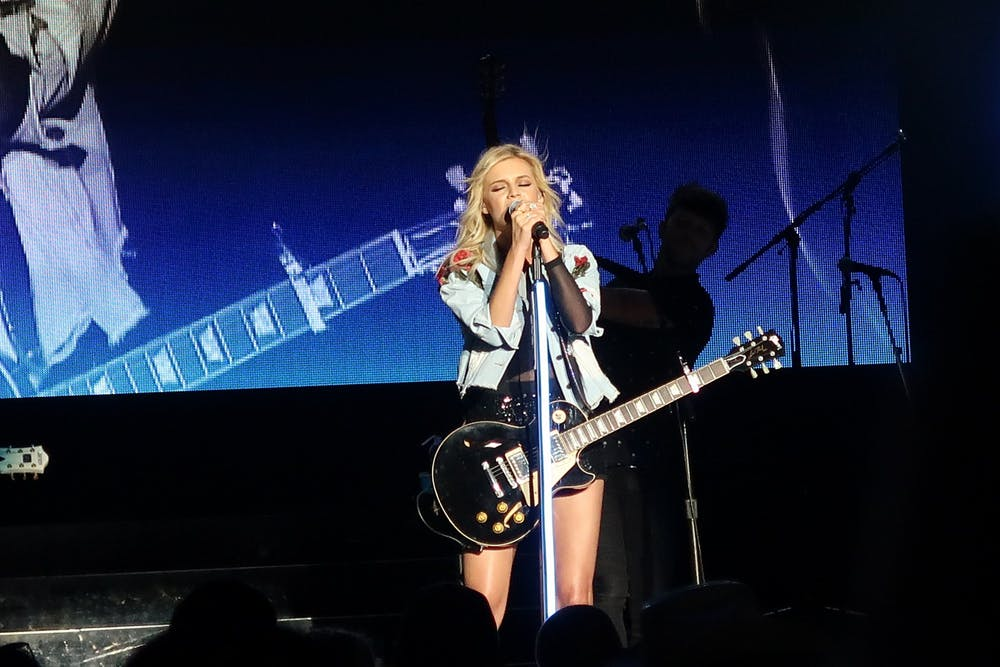 Kelsea Ballerini performs in September 2017.