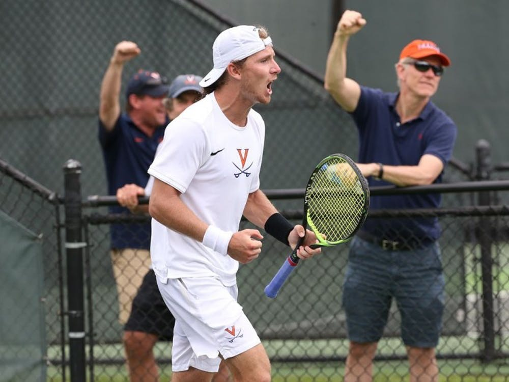 Sophomore Gianni Ross was critical in both of Virginia's wins this weekend.
