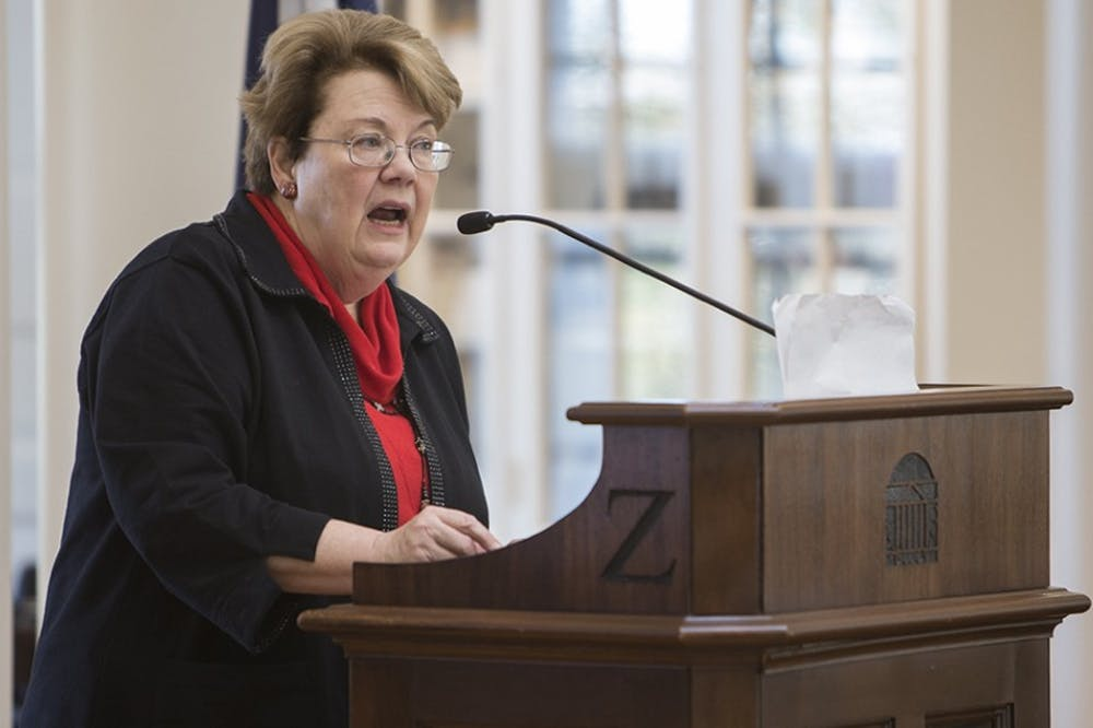 <p>President Teresa Sullivan will charter the new commission for four years, with the consultation and approval of President-elect Jim Ryan.</p>