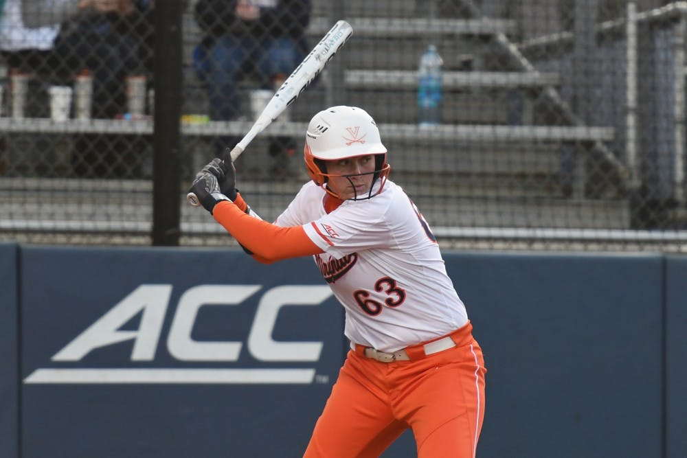 <p>Junior first baseman Danni Ingraham leads the Cavaliers with eight home runs this season.</p>