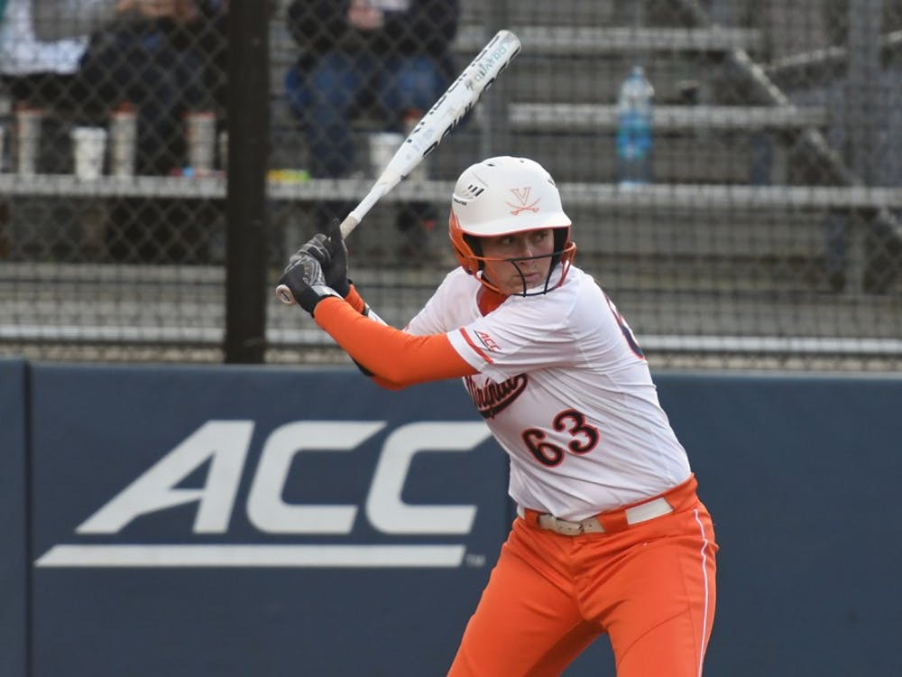 Junior first baseman Danni Ingraham leads the Cavaliers with eight home runs this season.