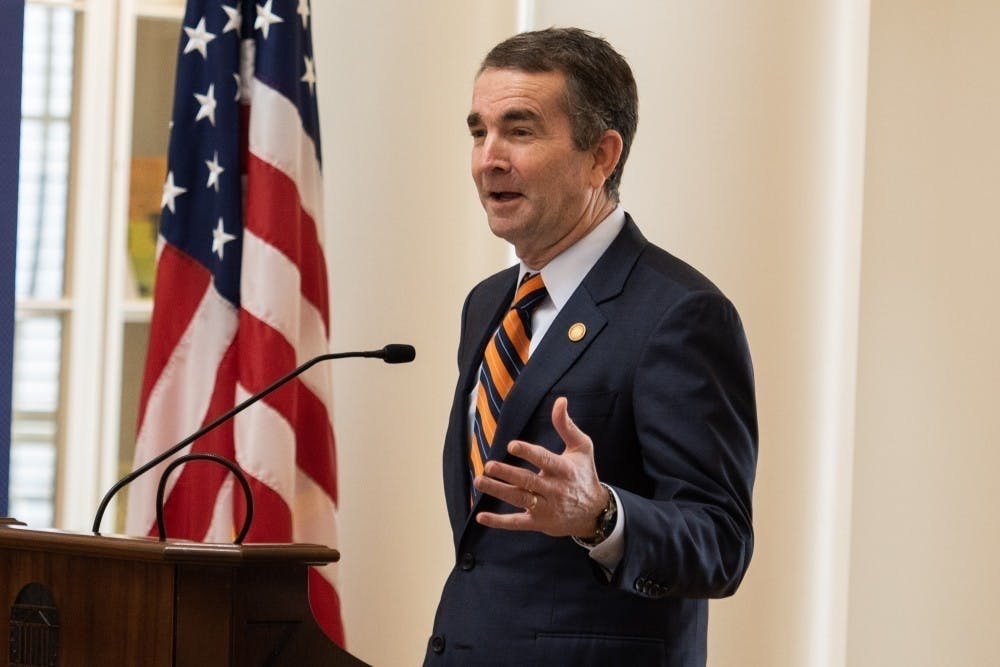 <p>Northam also prohibited out-of-state work travel for state employees and canceled all state conferences and large events for the next 30 days.&nbsp;</p>
