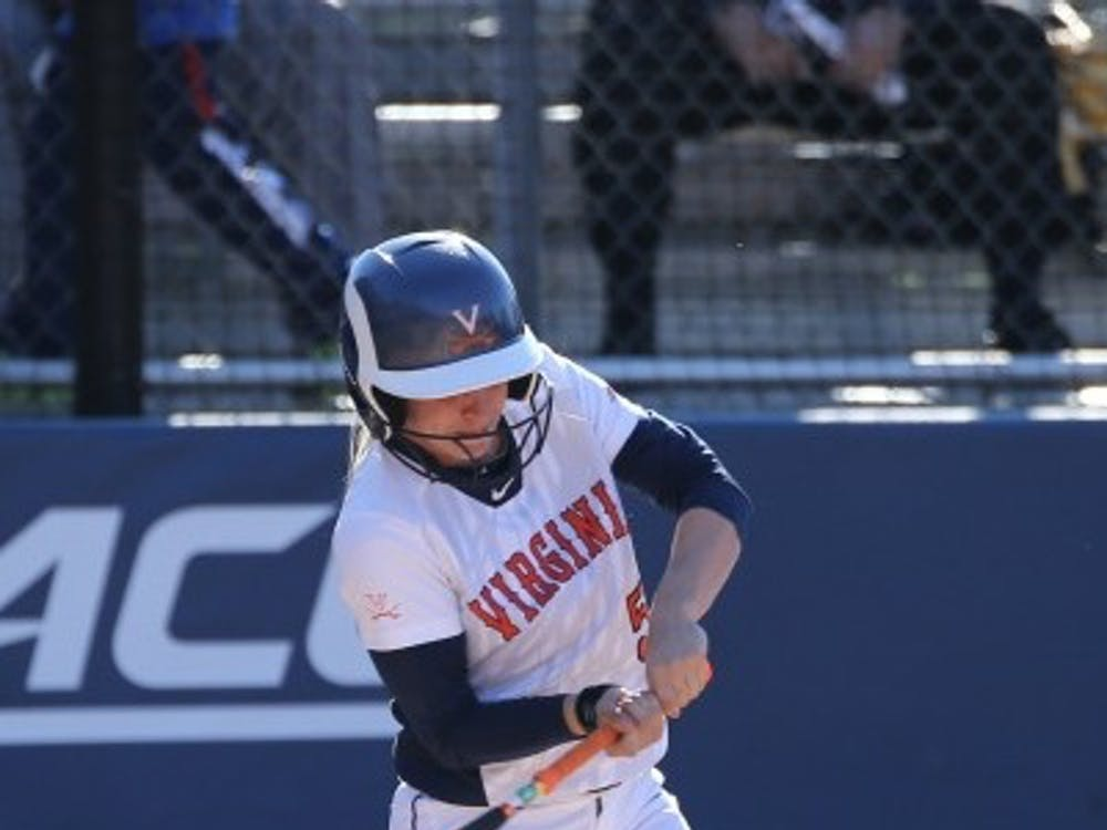 Senior outfielder Allison Davis went two-for-three in Virginia's lone win of the weekend.