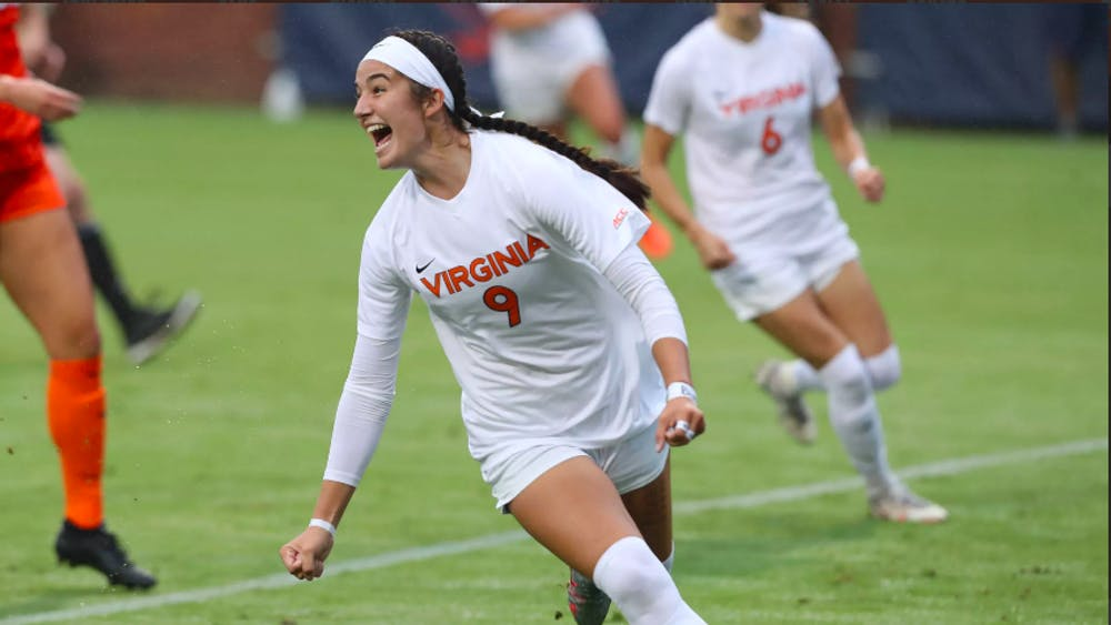 Sophomore forward Diana Ordoñez gave Virginia an early 1-0 lead with a goal in the ninth minute.