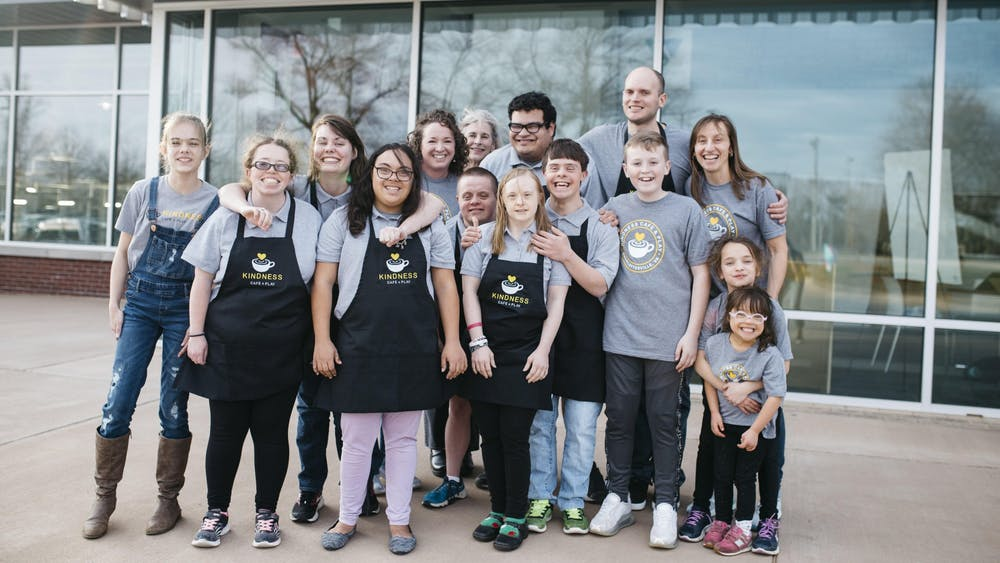 """""""The absolute mission of our cafe is to employ adults with cognitive disabilities."""""""