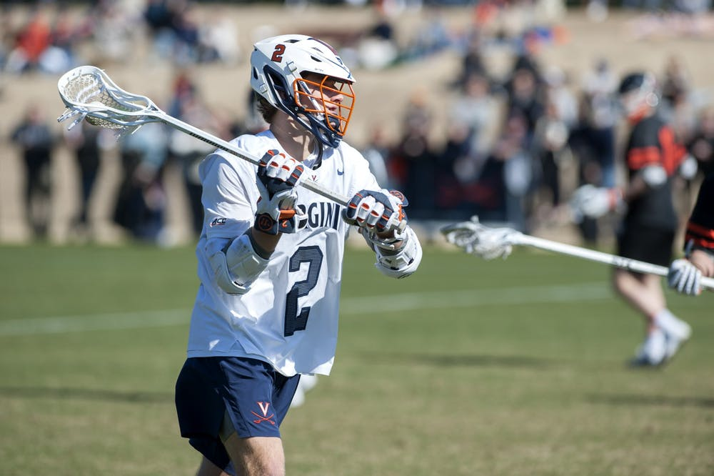 <p>The Cavaliers couldn't compete with Princeton's high-octane offense despite a four-point performance by senior attacker Michael Kraus.&nbsp;</p>