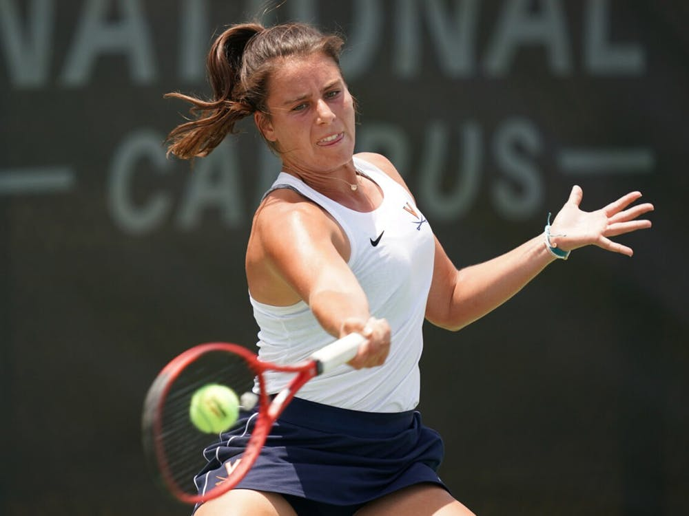 Freshman Emma Navarro dropped just two sets en route to Virginia's third ever NCAA women's singles title.