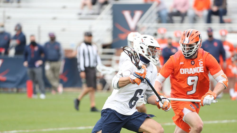 In what may have been his final game at Klöckner Stadium, Virginia star graduate student midfielder Dox Aitken was held to just one goal by the Orange.
