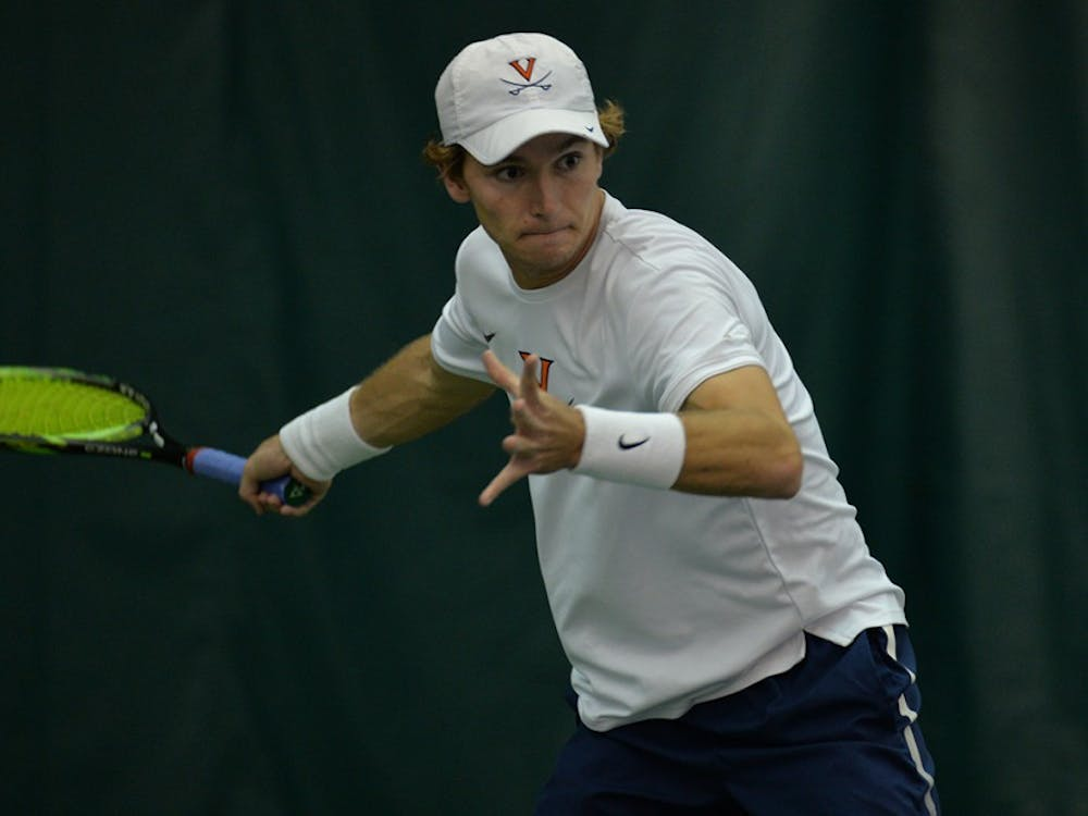 Despite sophomore Giani Ross' loss, the Cavaliers defeated William and Mary.