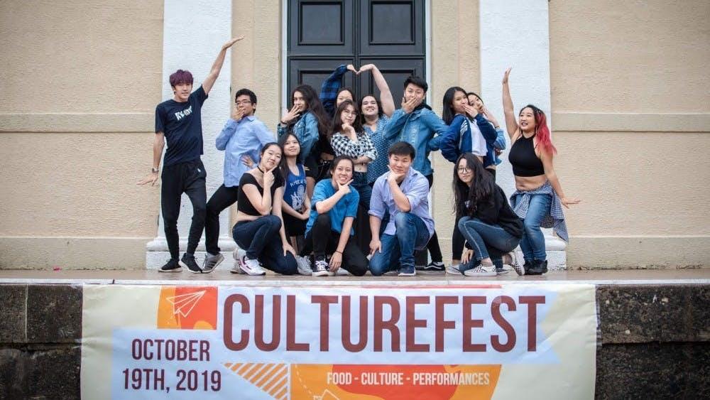 韩国学生联盟是众在今年文化节表演的众多文化CIO中的一员