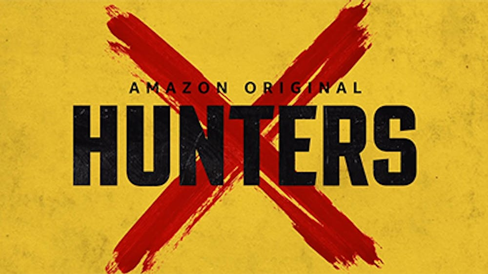 """Hunters,"" starring Al Pacino and Logan Lerman, premiered on Amazon Prime Feb. 21."