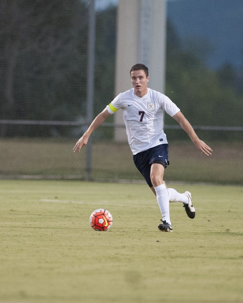 <p>Senior midfielder Todd Wharton has started every game for Virginia this season. His three assists rank second on the team to junior midfielder Patrick Foss.</p>