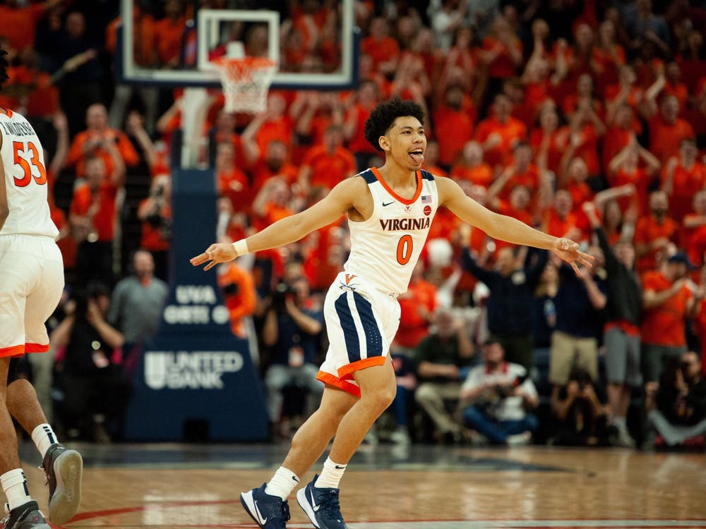 Sophomore guard Kihei Clark sank a huge three-pointer with 28 seconds left to seal the win for the Cavaliers.