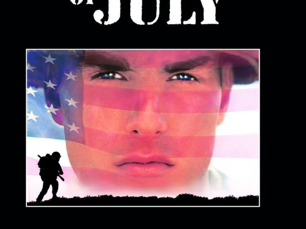 """Stone's film, """"Born on the Fourth of July,"""" was screened at this year's Virginia Film Festival."""