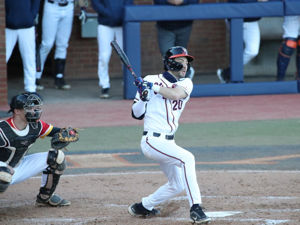 This marked the 19th straight game in which senior outfielder Marc Lebreux reached base.