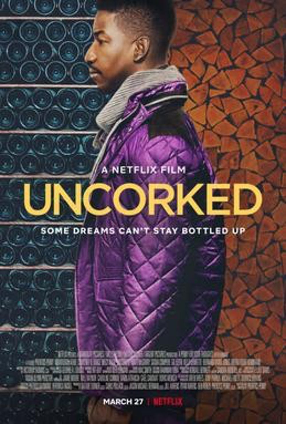 "<p>""Uncorked,"" a new Netflix film from Prentice Penny, was released March 27 and tells the story of a young man who wants to pursue his dream of becoming a master sommelier.&nbsp;</p>"
