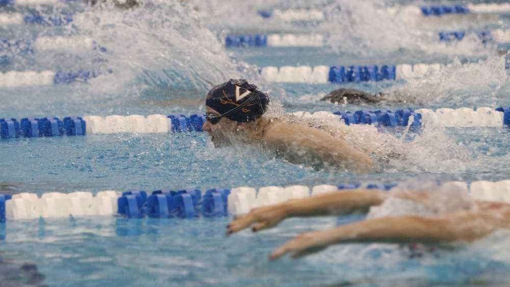 <p>After an outstanding weekend that included two ACC records and two Virginia records, Douglass was named the ACC Female Swimmer of the Week Tuesday.&nbsp;</p>