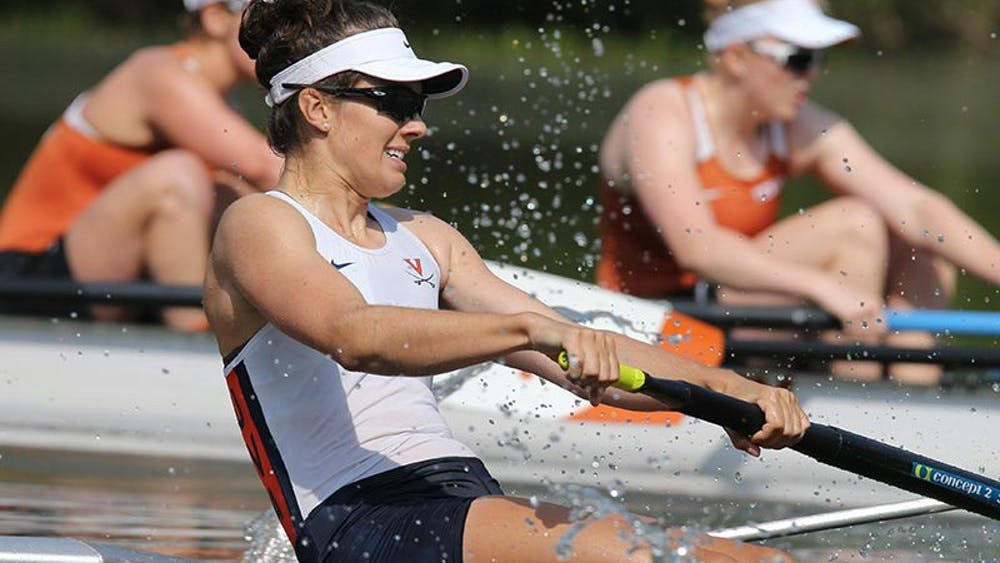 Graduate student Ali Zwicker, a co-captain of the team, embodies the attitude and ethic that has allowed the Virginia Rowing to have such sustained success.