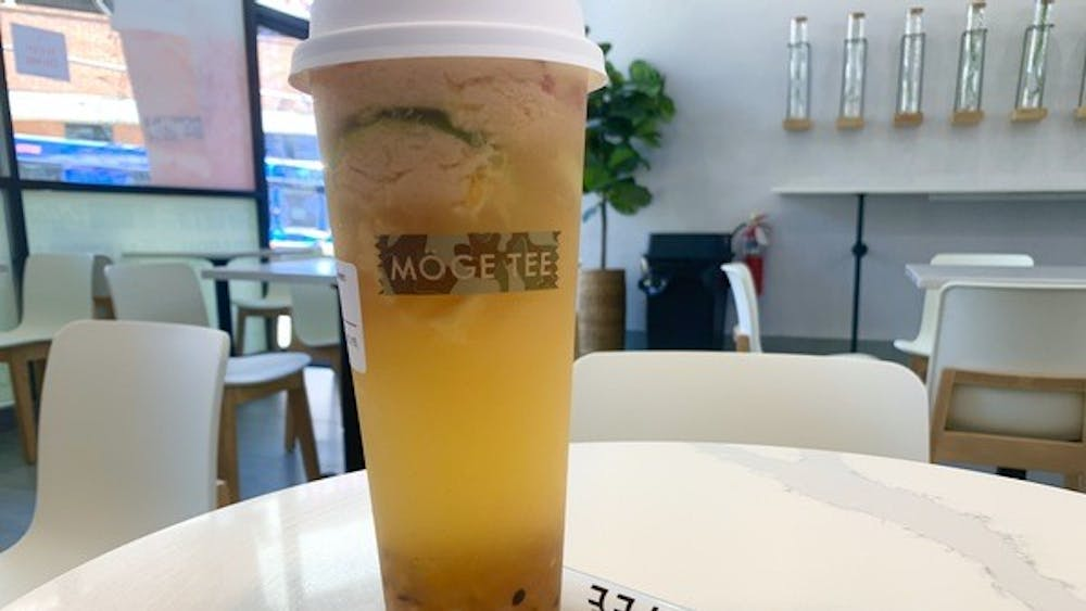 Unlike any other bubble tea places I have been to, Moge Tee stands out for its specialization in a cheese foam fruit tea.
