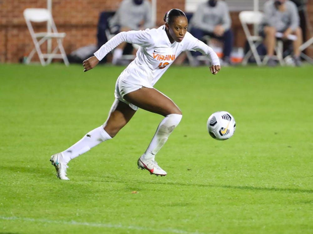 <p>Junior forward Rebecca Jarrett has been a force on Virginia's offense this season and is prepared to continue her hot streak against Louisville.&nbsp;</p>