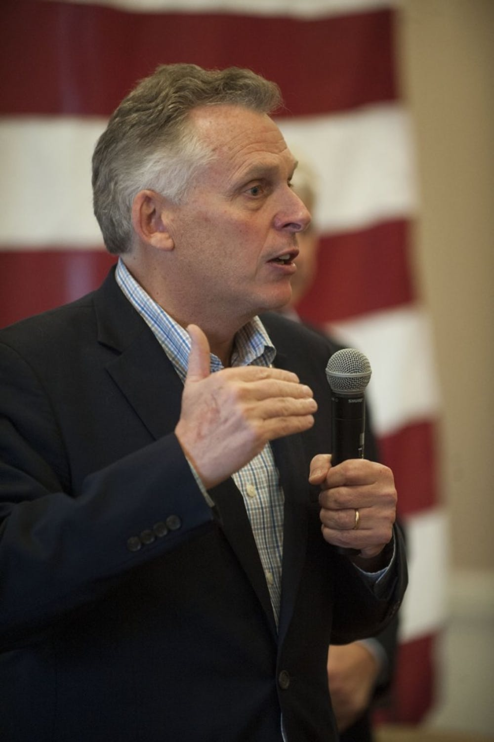 <p>McAuliffe's position welcomes refugees while focusing foremost on the safety of Virginians, Coy said.</p>