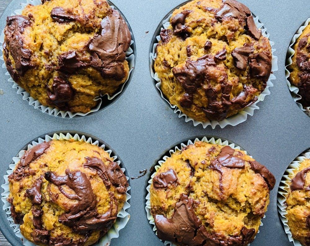nutella-pumpkin-muffins