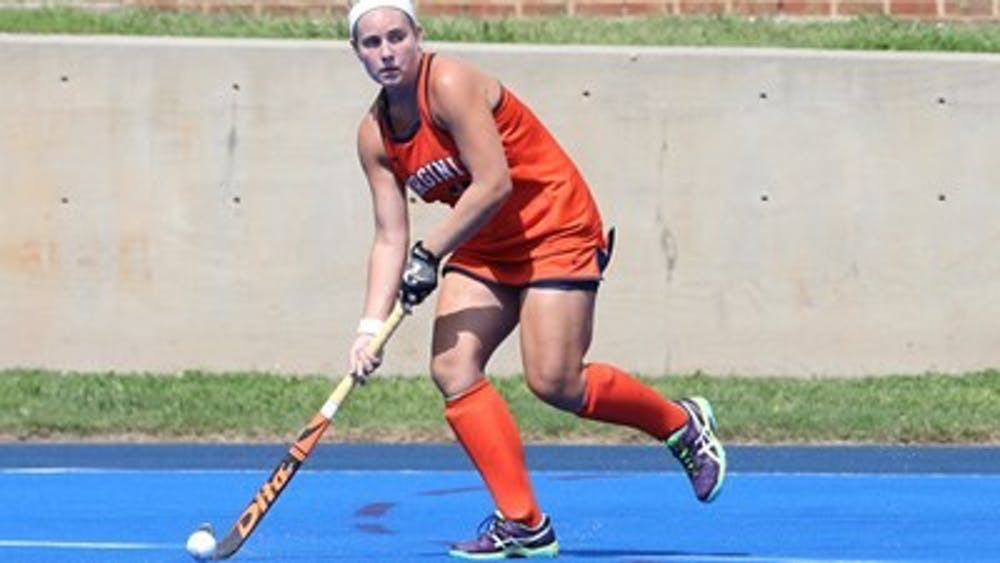 Junior midfielder Erin Shanahan led the Cavaliers in shots and put up two, including a final attempt off a corner in the game's final moments.