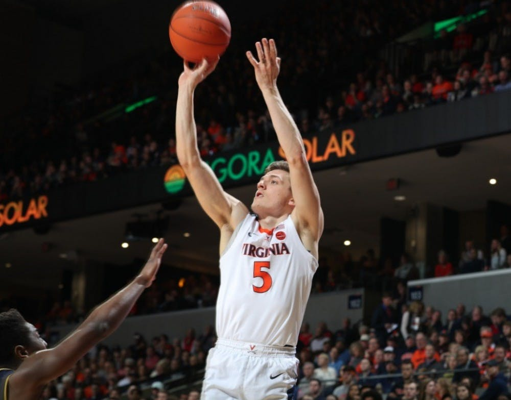<p>Junior guard Kyle Guy finished with a team-high 23 points and 7 rebounds.</p>