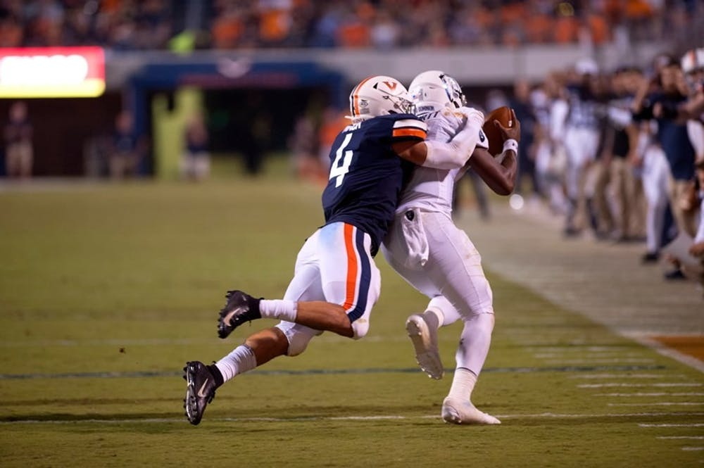 <p>Senior linebacker Jordan Mack won the Jim Tatum Award Monday, given to the league's top senior student-athlete. Mack is the first Virginia player to win the award since tight end Tom Santi won it in 2007.</p>