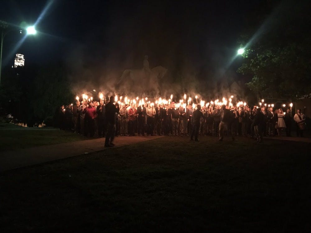 <p>Part of City Council's discussion centered around Saturday's demonstration by white supremacists in Lee Park.</p>