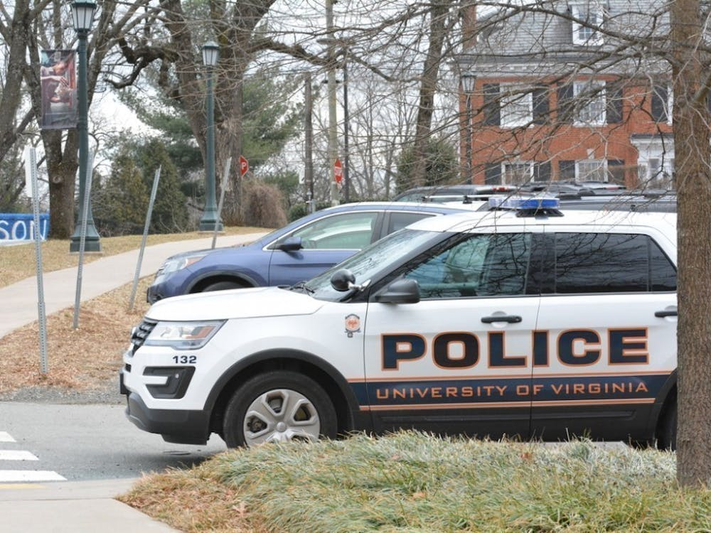 The incident took place at 2:58 a.m. Sunday at an off-Grounds housing location.