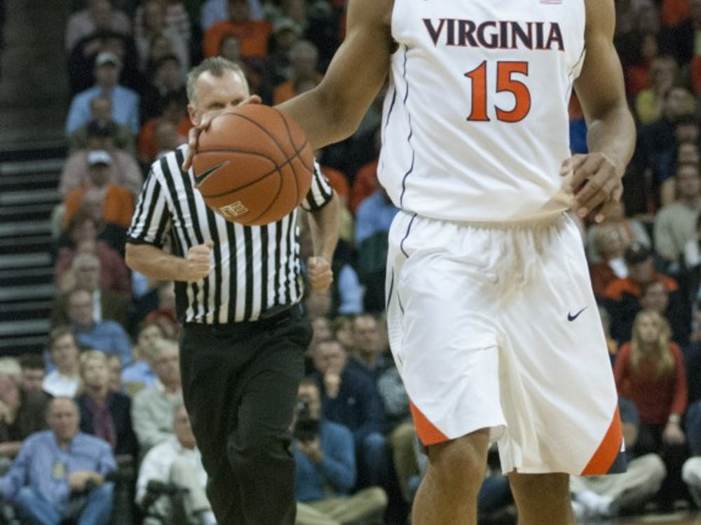 Sophomore guard Malcolm Brogdon finished with 17 points and 7 rebounds against Davidson
