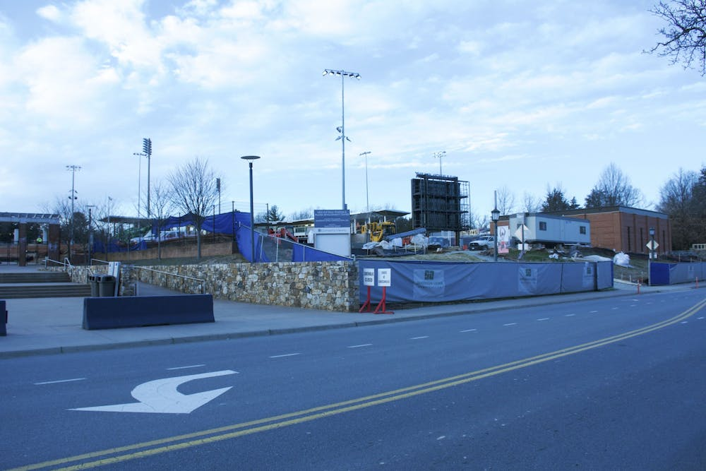 <p>The new softball facility, Palmer Park, is set to debut in March 2020.</p>