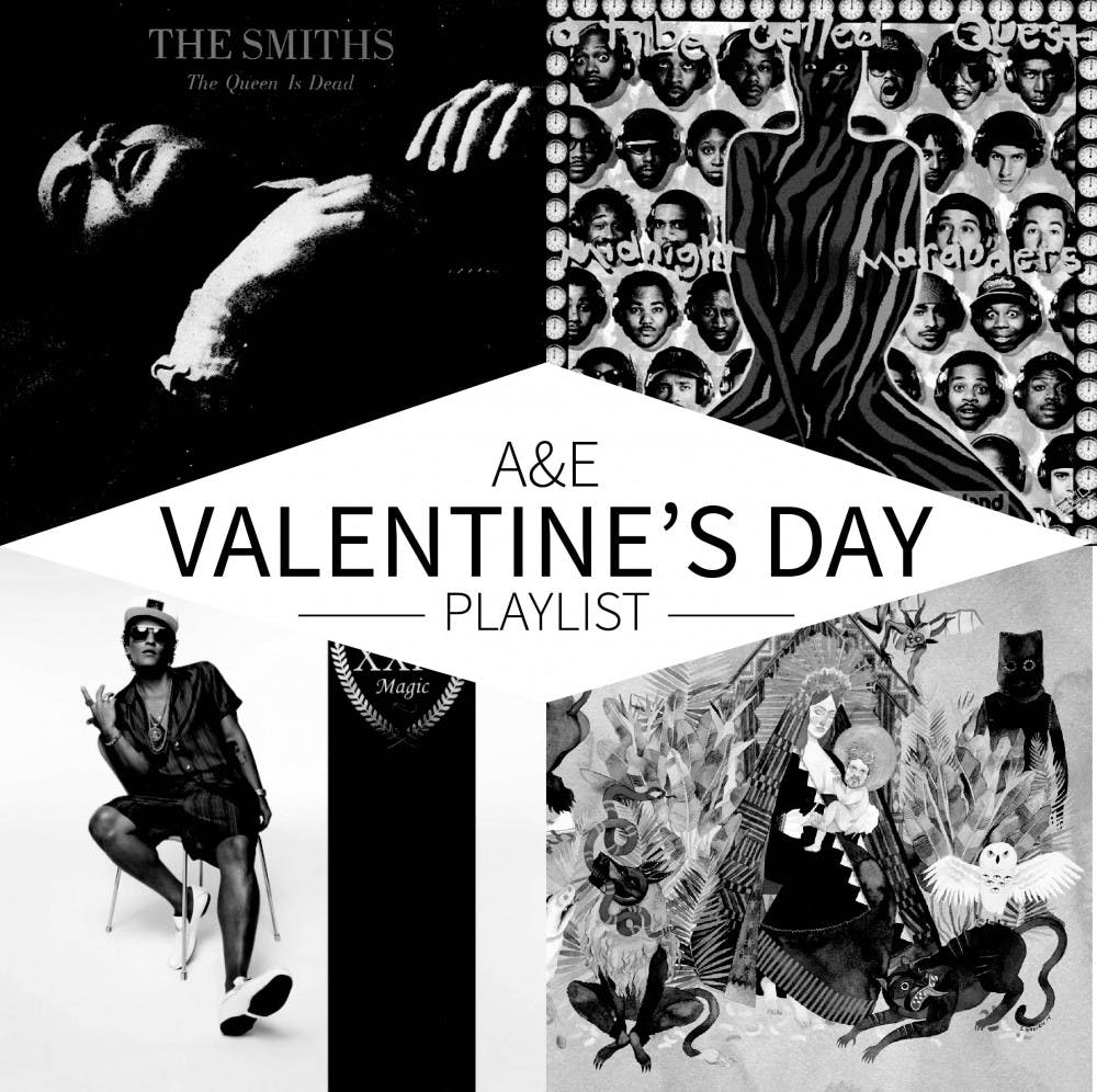 <p>Love it or hate it, Valentine's Day has produced some seriously sweet &mdash; or seriously steamy &mdash; music.</p>