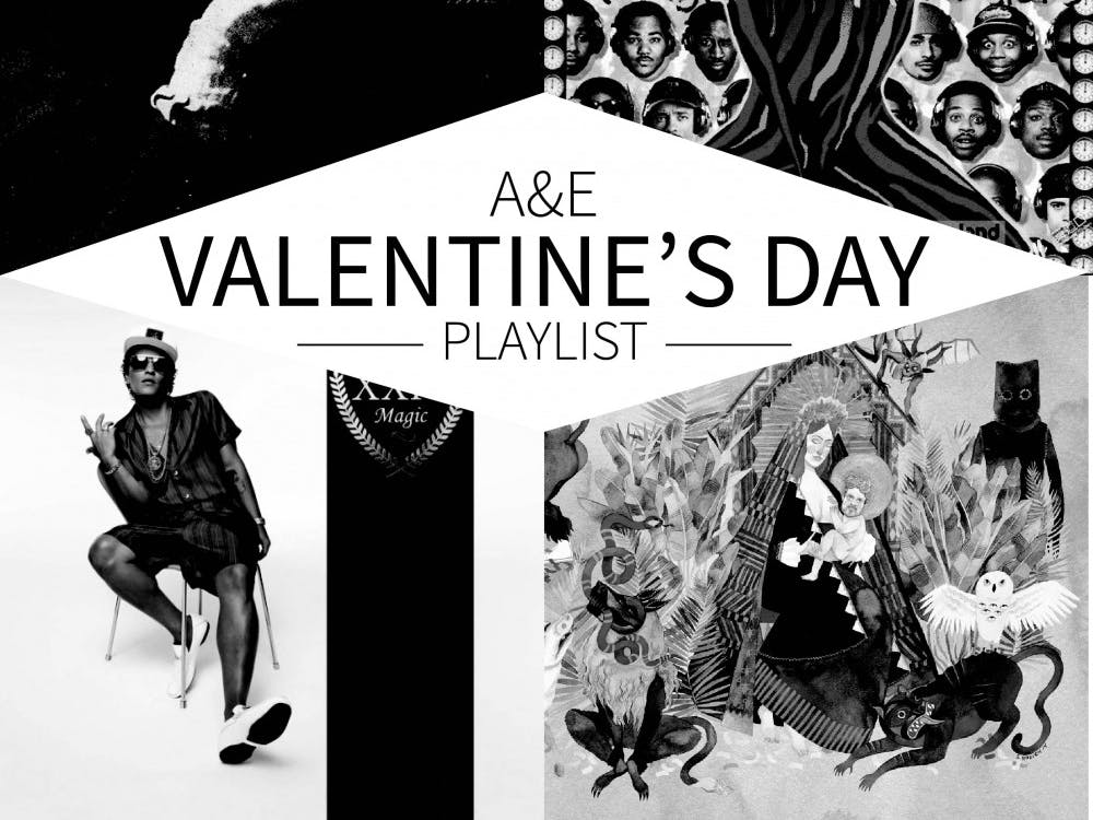 Love it or hate it, Valentine's Day has produced some seriously sweet — or seriously steamy — music.