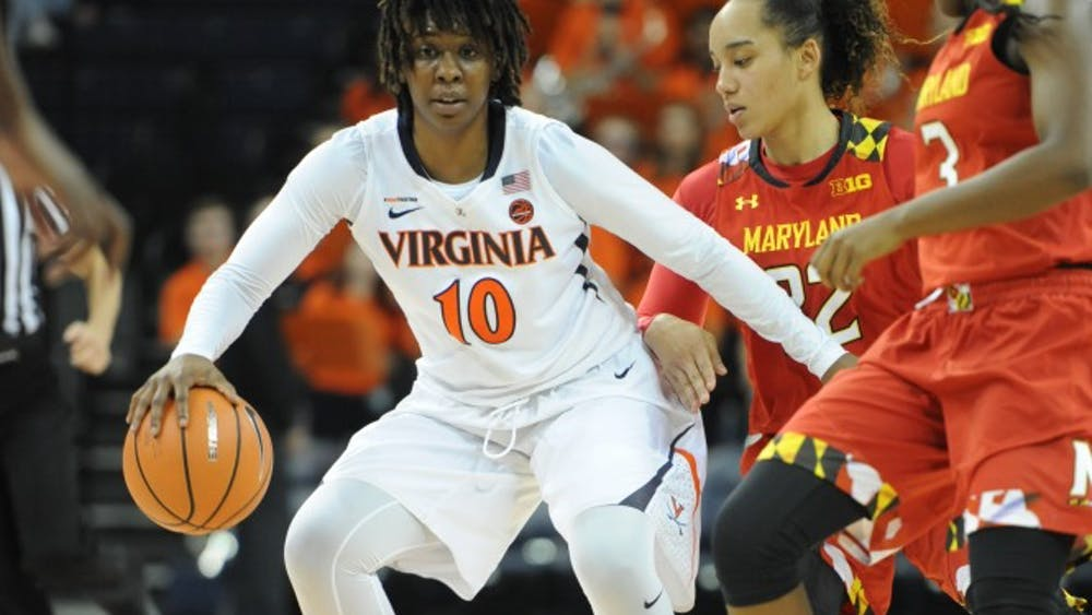 Senior guard J'Kyra Brown led the Cavaliers past UNCG with a balanced attack of 15 points, six rebounds and four assists.