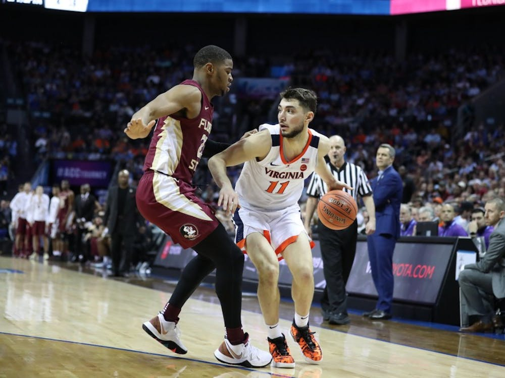 Junior guard Ty Jerome scored ten points, all in the second half, as Virginia fell to Florida State 69-59.