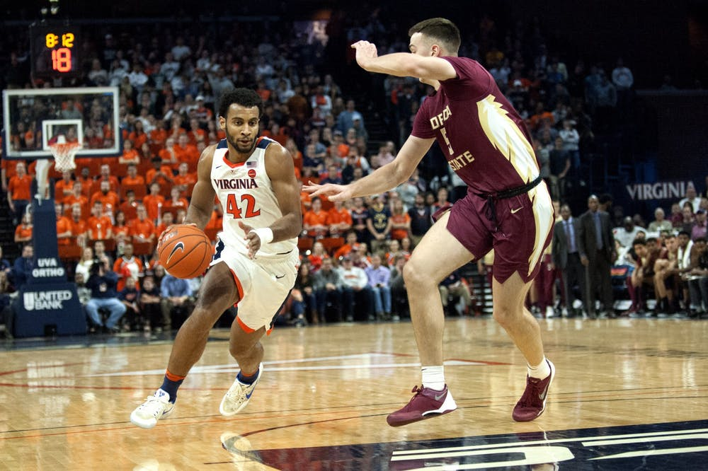 <p>Senior guard Braxton Key recorded 13 points in addition to a game-high nine rebounds.&nbsp;</p>